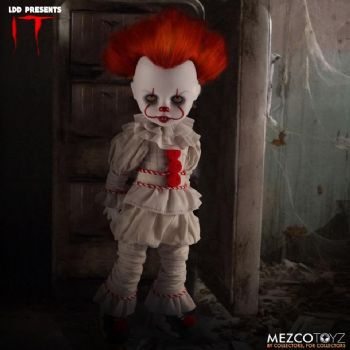Mezco Toys Living Dead Dolls IT 2017 Movie Pennywise Figure